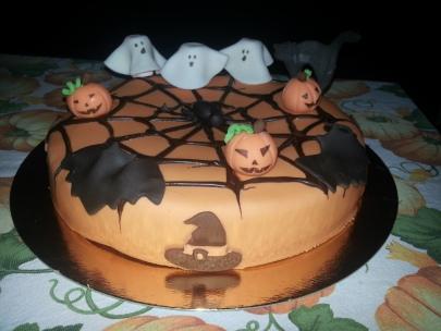 Tarta Halloween