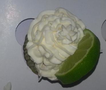 Cupcakes caipirinha